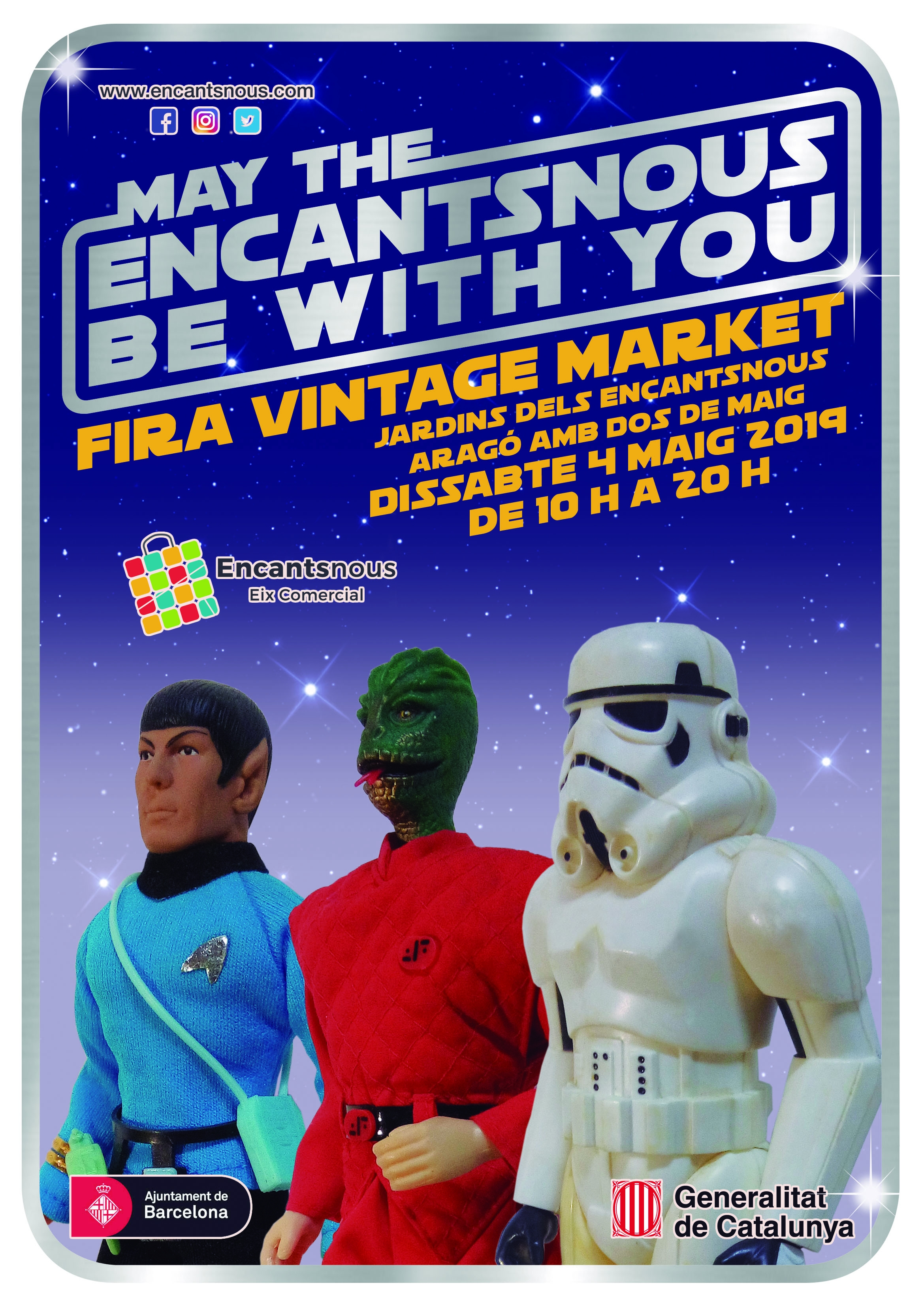 May the Encantsnous be with you 04/05/2019
